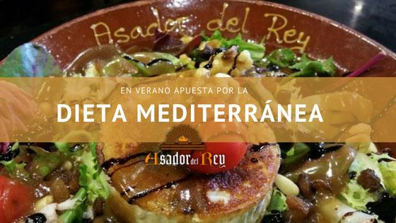 Dieta Mediterránea en Verano