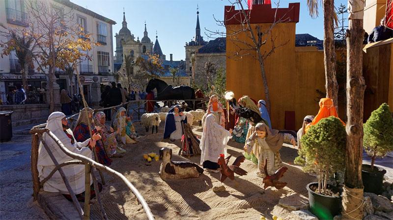 Asador del Rey - Belén monumental en San Lorenzo de El Escorial