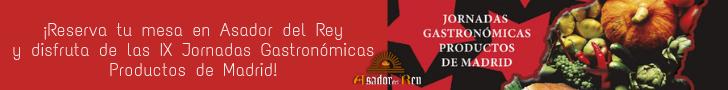 IX Jornadas Gastronómicas Productos de Madrid.