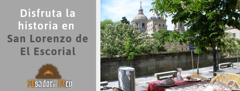 Organiza una visita a San Lorenzo de El Escorial
