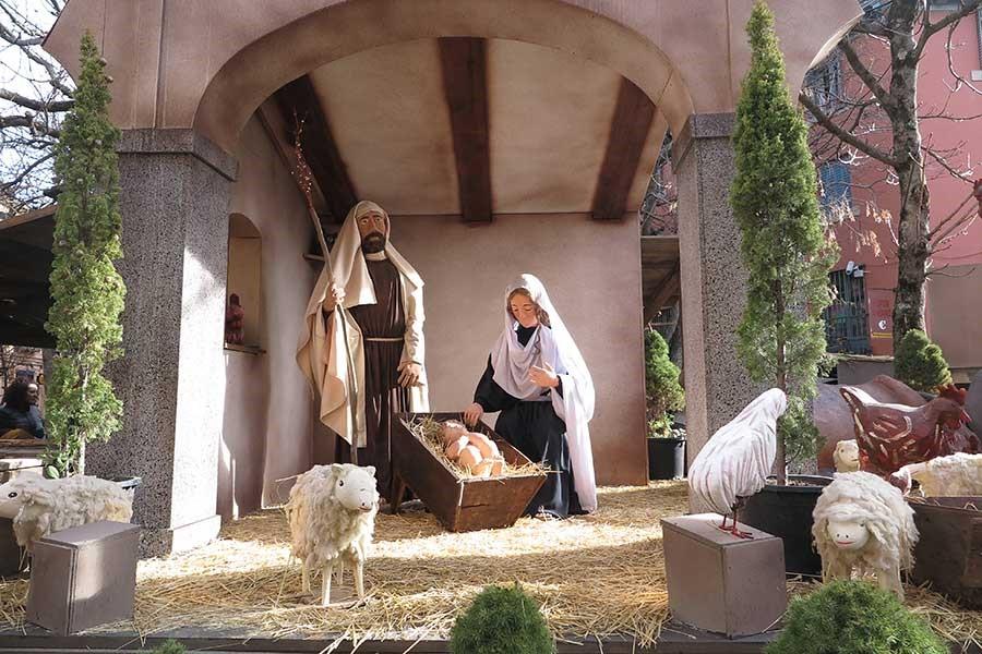 Planes navideños en El Escorial