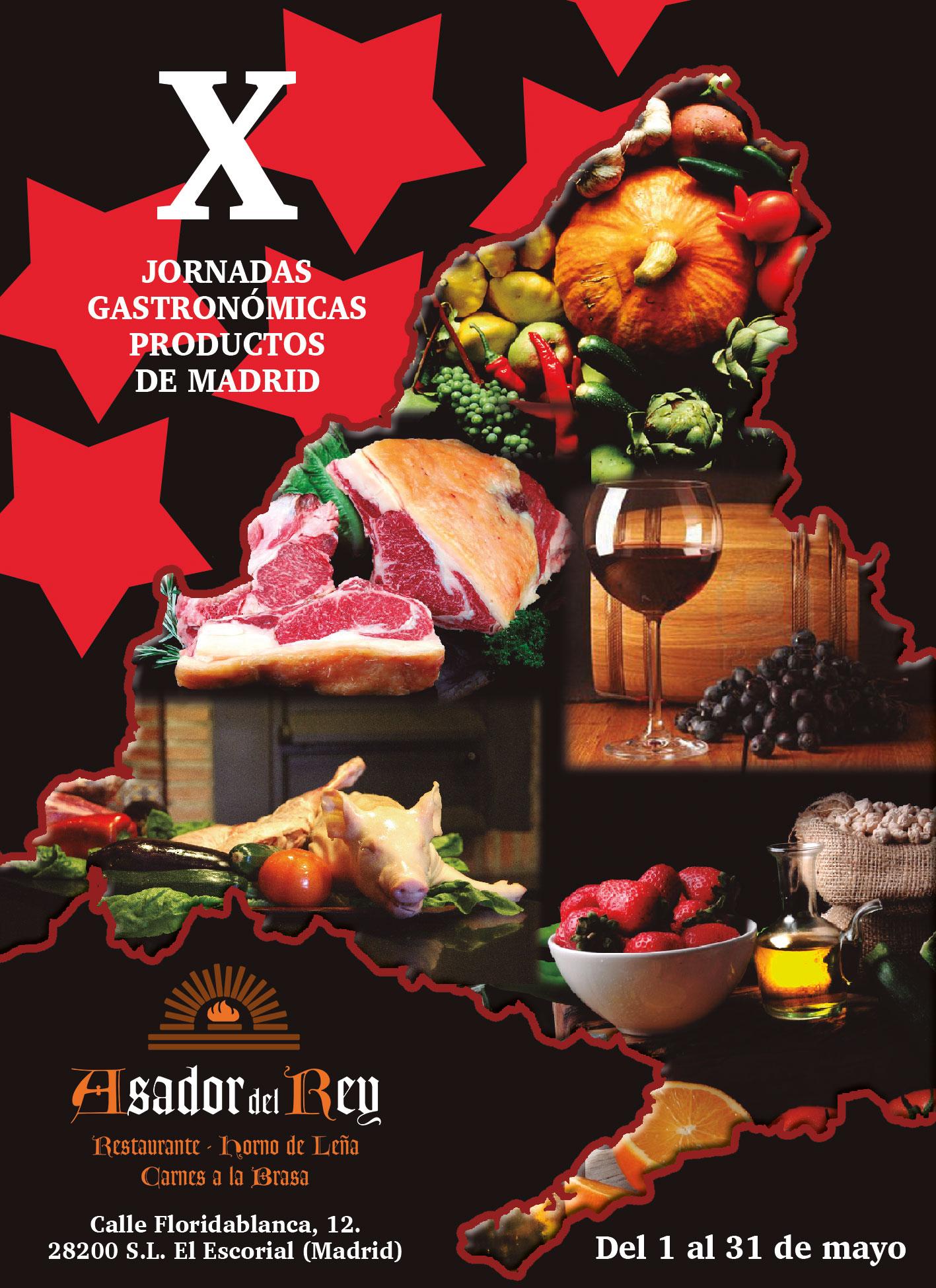X Jornadas Gastronómicas con alimentos de Madrid
